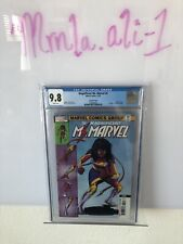 magnificent ms.marvel #5 2nd print cgc 9.8 new costume