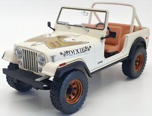 Greenlight 1/18 Scale Model Car 19065 - 1979 Jeep CJ7 Golden Eagle - White