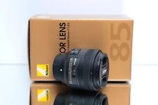 Nikon AF-S NIKKOR 85mm 1:1.8G - NEU