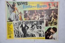 Harum Scarum 1965 Mexican Lobby Card Movie Poster Elvis Presley #4