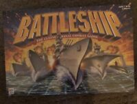 BATTLESHIP THE CLASSIC NAVAL COMBAT GAME 2002~ NEW, SEALED IN ORIGINAL PACKAGING