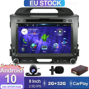 CD/DVD Autoradio Für KIA Sportage 2011-2015 Android 10.0 GPS Navi DAB Car Play