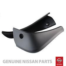 Genuine Fits Nissan Qashqai Rear Mud Flaps Guards Mudguards Set *KE788JD286