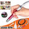 "1/4""Air Micro Die Grinder Kit Mini Pencil Polishing Grinding Rotary Cutting Tool"