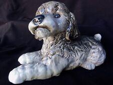 GOEBEL Vintage  Large  Spaniel Poodle Puppy Dog Figurine -  3003 315