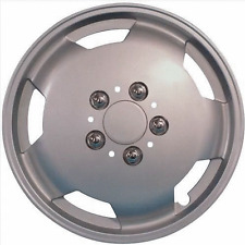"Peugeot Boxer Motorhome & Van 15"" Silver Wheel Trim Set of 4 Deep Dish Trims"
