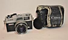 VTG Canon Canonet QL17 GIII Rangefinder 35mm film camera