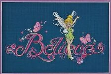 Counted Cross Stitch Kit BELIEVE Tinker Bell Disney Dimensions