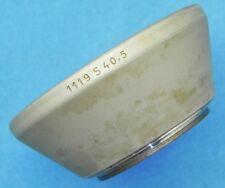 Zeiss Chrome 1119 S40.5mm screw-in hood for 50/1.5,50/2,50/3.5 Rigid  #10
