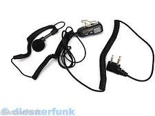 SECURITY HEADSET Mikrofon Ohrhörer VOX PTT MA21L MIDLAND G5 G6 G7 G8 G9 M48 M99