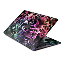 """Skin Decal Wrap for MacBook Pro 13"""" Retina Touch  Skull Art Creepy"""