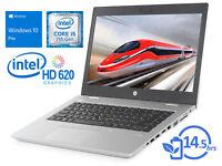 """HP ProBook 640 G4, 14"""" HD, i5-7200U, 4GB RAM, 500GB HDD, Windows 10 Pro"""