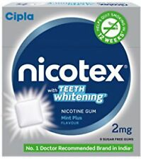 Nicotex Mint 2 mg Nicotine Chewing Gum Stop Smoking Aid 90 Count Free shipping