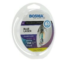 BOSMA H4 Blue Laser Modern Style Premium Halogen Lampe Rainbow Look Optik E4