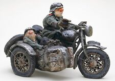 THE COMIC ART of Guillermo Forchino The sidecar figurine statue motorcycle army