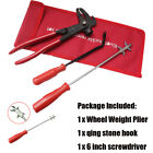 New Alloy Steel Plier Hammer Cutter Hook Board Snap Screwdriver Tire Tool Set