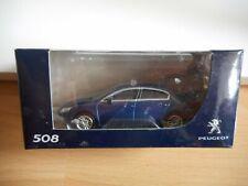 Norev Peugeot 508 in Blue on 1:64 in Box