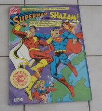 SAGEDITION  Superman contre SHAZAM !   format géant ! sep9c