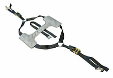 TYRE FIX MOTORCYCLE SUPERMOTO ROAD TIE DOWN TRAILER RATCHET SINGLE STRAP SYSTEM