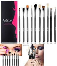 10Pcs Professional Eyeshadow Makeup Brush Set Makeup Brushes Kit Fits for Vegan