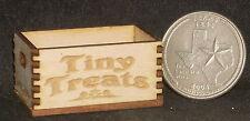 Dollhouse Miniature Tiny Treats Crate 1:12 Produce Fruit Vegetables Farm Market