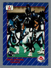 1991 All-World CFL  Toronto Argonauts' OT Chris Schultz Autographed Card #96