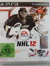 !!! PLAYSTATION PS3 SPIEL NHL 12, gebraucht aber GUT !!!
