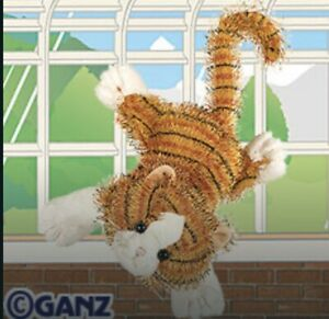 Webkinz Full-sized STRIPED ALLEY CAT HM042 NEW Unused Code