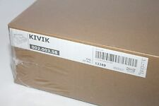Ikea Kivik 3 Seat Sofa Cover ONLY Tullinge Dark Brown Slipcover 002.003.58 New