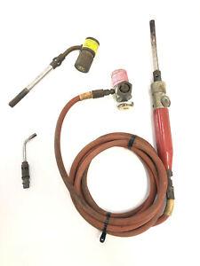 Turbo Torch Handle, Extreme Acetylene A-3 & A-11 Tip, STK-R & AR-2 Regulator
