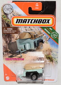 MATCHBOX 2020 CASE X MBX MOUNTAIN TRAILER TRAWLER