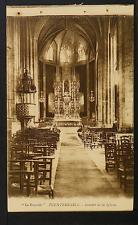 "2556.-FUENTERRABIA -Interior de la Iglesia (""La Española"")"