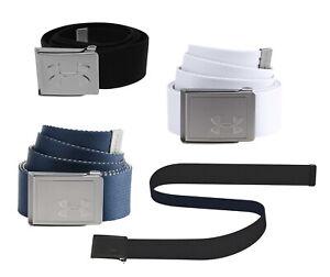 Under Armour UA Webbing 2.0 Belt Mens Golf Belt 1305487 - Pick a Color