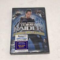 LARA CROFT (WIDESCREEN DVD BOX SET) Tomb Raider & The Cradle of Life BRAND NEW