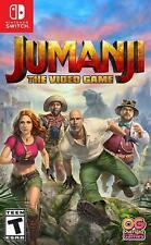 Jumanji : The Video Game - Nintendo Switch Sealed New