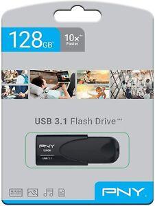 PENDRIVE USB 3.1 USB 3.0 128GB CHIAVETTA PENNA PNY Attaché 4