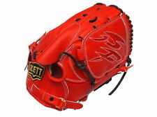 ZETT Pro Elite 12 inch Japan Red Baseball Softball Pitcher Glove - Fujinami