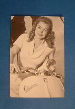 LAMBRETTA VESPA POST CARD ESTER WILLIAMS ITALIAN CARD 15 YEARS OLD