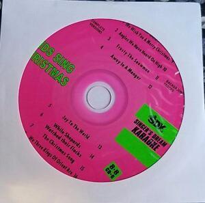 KIDS SING CHRISTMAS KARAOKE CDGM CD+G MULTIPLEX 8+8- XMAS MUSIC SONGS CD SDK9050