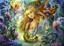 NEW! Ravensburger Fairy of the Tides 1000 piece fantasy jigsaw puzzle 19595