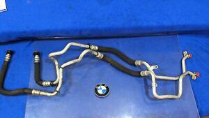 BMW F10 F07 F02 F12 N63 ENGINE OIL COOLER LINE COOLING PIPE OUTLET OEM f01 750i