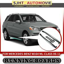 Sliver Aluminium Side Step Running Boards fit Mercedes Benz W164 ML Class 06-11