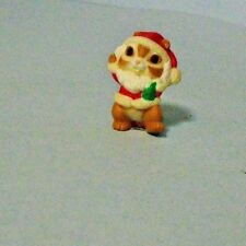 1985 Hallmark Merry Miniature Mr. Santa Chipmunk