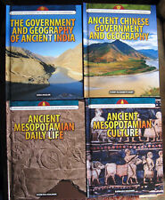 Lot of 4 from Spotlight on the Rise and Fall of Ancient Civilizations, Rosen Pub