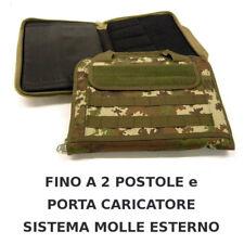 Valigetta porta pistola imbottita - fino a 2 pistole custodia VEGETATO ITALIANO