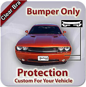 Bumper Only Clear Bra for Saturn Sl 2000-2002