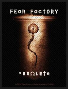 Licenza Ufficiale - Fear Factory - Obsolete Toppa da Cucire Metallo