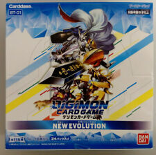 Digimon Card Game BT-01 New Evolution Booster Box Carddass Bandai