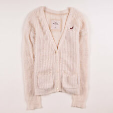 Hollister California Damen Cardigan Pullover Sweater Gr.XS (DE 34) Wolle, 51293