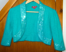 Monsoon Teal Bolero Angora Blend 12